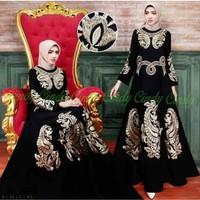 Gamis Dress Abaya Arab Saudi Bordir Jenar - S