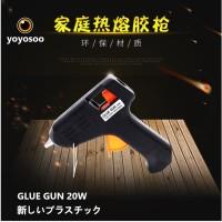 Kenmaster Glue Gun 20 Watt - Lem Tembak Cepat Panas