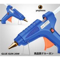 Lem tembak glue gun stick cair lengket refill alat membakar melelehkan - 20WATT