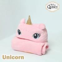 Blanket Baby Topi Vallery Quincy - UNICORN