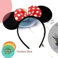 Promo Bando Mickey Mouse Disneyland Murah Bando Kuping Tikus Kostum