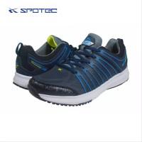 Sepatu Running Spotec Caribian Biru Tua