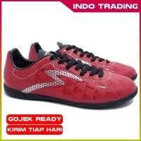 Sepatu Futsal Specs Quark In Chestnut Red Black Silver Original 2018