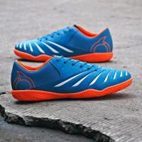 Sepatu Futsal Ortuseight Blitz In Mystique Blue Ortrange White Orig