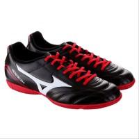 Sepatu Futsal Mizuno Monarcida Black Red Original
