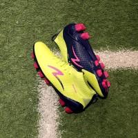 Sepatu Bola Specs Accelerator Infinity FG Solar Slime Naval Blue Ori
