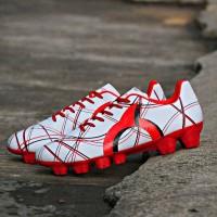 Sepatu Bola Ortuseight Ventura FG White Red Black Original