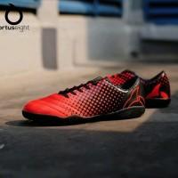 Sepatu Futsal Ortuseight Utopia In Ortred Black Original suku cadan