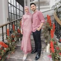 dress couple muslim yudisthira set kemeja gamis fashion sarimbit tille