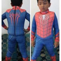 Baju Renang Anak Pelampung Spiderman