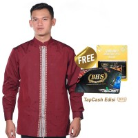 Baju Muslim BHS Masterpiece Merah