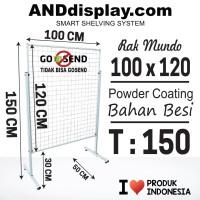 RAK MUNDO UK 100 X 120CM/RAM BINGKAI/DISPLAY CANTOLAN/AKSESORIS/RAM
