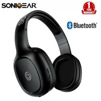 SonicGear Airphone 3 Bluetooth Headphones with Mic for Smarthphone - grey