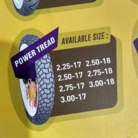 ban luar mizzle power tread power tread ring 17 250