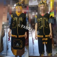 Baju adat dayak SMA - Dewasa // baju dayak // pakaian adat dayak Lk/Cw