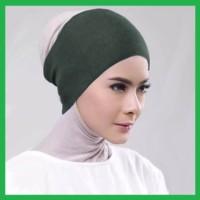 Ciput rajut Inner dalaman hijab Bandana Rajut