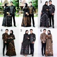Couple Gamis Batik Jumbo Couple Gamis Batik XXL Baju Batik Keluarga