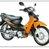 full body kasar halus supra fit new orange