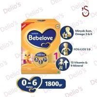 bebelove 1 & 2 bebelac 3 & 4 1800 gram vanila/ madu