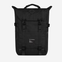 Backpack Zoom Monochromatic - Visval - Hitam - Tas Ransel