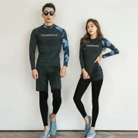 swimsuit / baju renang / long sleeve wanita A586