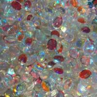 Batu Kalimaya Opal Imitasi Glassstone 8x10 mm Oval Polos