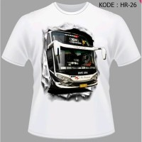 Kaos Bis PO Haryanto Baju Bus Java King Tshirt Javas Bis Mania HR-26