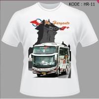 Kaos Bis Po Haryanto, Baju Bus, Shd, Jetbus,Tshirt Bismania HR-11