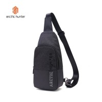 ARCTIC HUNTER XB00058 Crossbody Bag - Tas Selempang BLACK