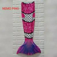 Kostum mermaid nemo kostum putri duyung anak baju