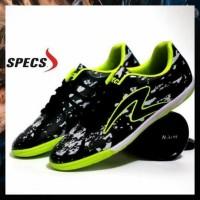 Murah Sepatu Futsal Pria Specs Barricada Ultima Hitam Hijau