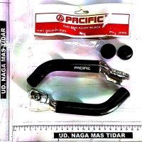 Alat Sepeda End bar Alloy Black Pacific PIP-295 - Naga Mas