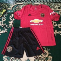 Jersey MU Manchester United Home Kids 2019 2020 Setelan Baju Kaos