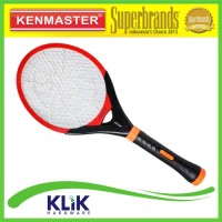 Kenmaster Raket Nyamuk KM-089 + Senter 5 LED + Magic Blue LED