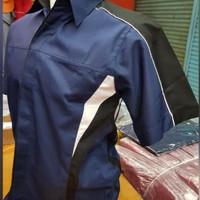 Seragam kerja/baju kemeja kantor/seragam karyawan/seragam toko dll