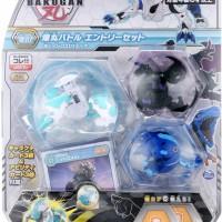 Takara Tomy - Bakugan Battle Planet Baku 017 Starter Set Lion white Dx