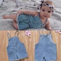 jumpsuit bayi / overall bayi 3bln-3thn jeans