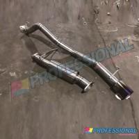 Aksesoris Knalpot Muffler Stainless HKS style Pajero Sport 09-20 Dakar