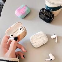 Airpods Pro Apple Case Marble Hard Casing Marmer Berwarna