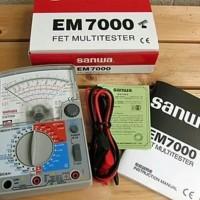 Sanwa EM7000 Analog Multimeter Multitester Avometer