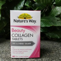 Natures Way Beauty Collagen isi 60 tablet