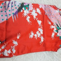 baju cina merah anak cewe import