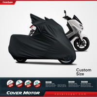 Cover Super Cover Motor Sarung Motor Tutup Motor NMAX WARNA HITAM