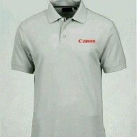 Polo shirt-Tshirt-Kaos Kerah CANON Terpopuler