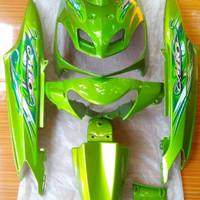 cover body body full halus mio sporty smile hijau plus striping