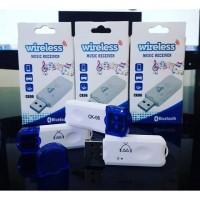 Bluetooth Receiver CK06 Tanpe Aux dan Tanpa Charger