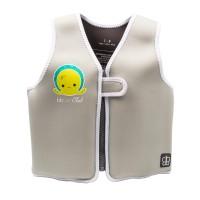 BBLUV Evolving Neoprene Swim Vest Grey Small