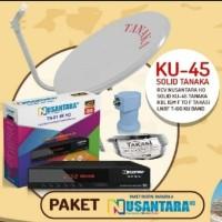 Antena Parabola Mini - Nusantara HD - Transvision Tanpa Langganan