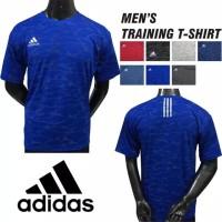 Kaos Running Pria Baju Lari Running Bola Futsal Adidas Olahraga Grosir