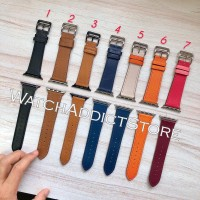 Strap Apple Watch IWO Leather Band Hermes Loop Strap Single Tour